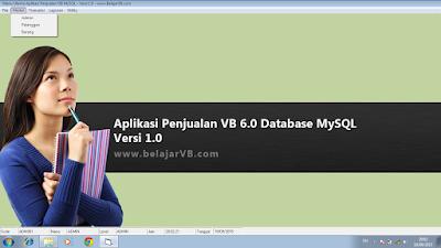 Download Gratis Aplikasi Penjualan MySQL