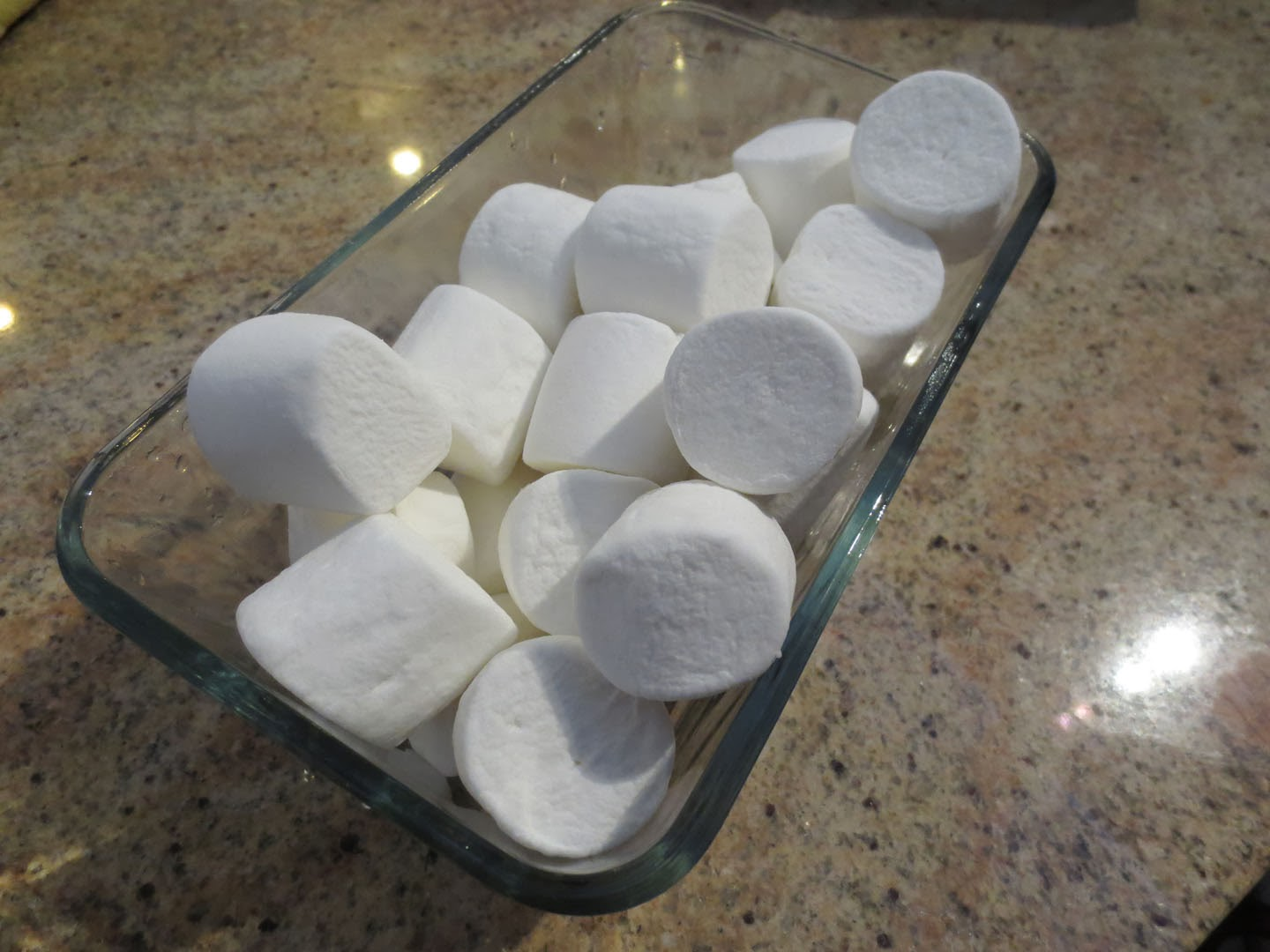 marshmallows in loaf pan