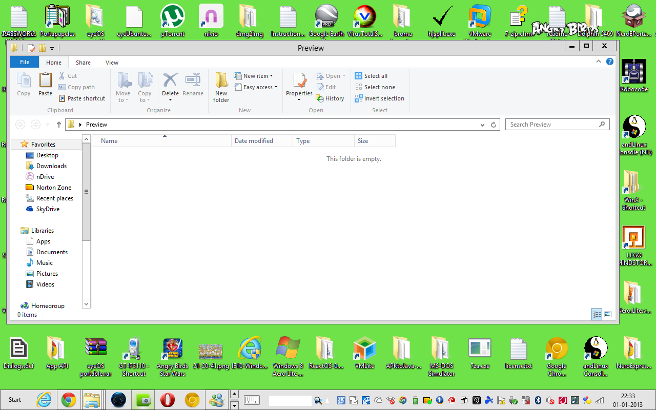 Aero Lite for Windows 8 RTM