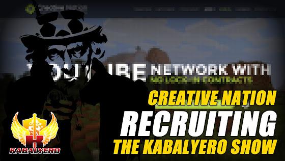 Creative Nation ★ Recruiting The Kabalyero Show