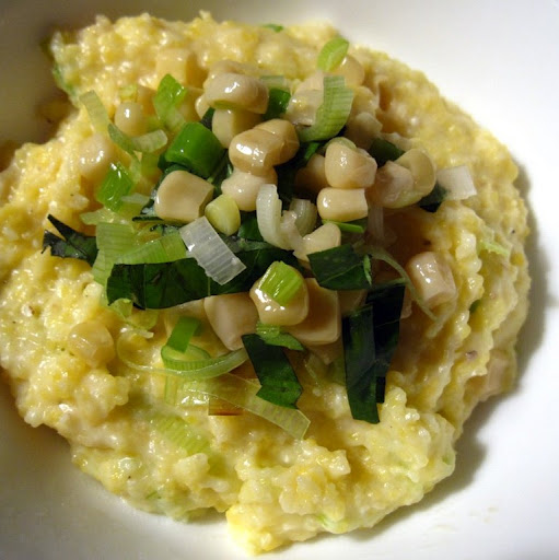 Creamy Polenta whit Fresh Leeks and Corn all recipes | Quick Healthy ...