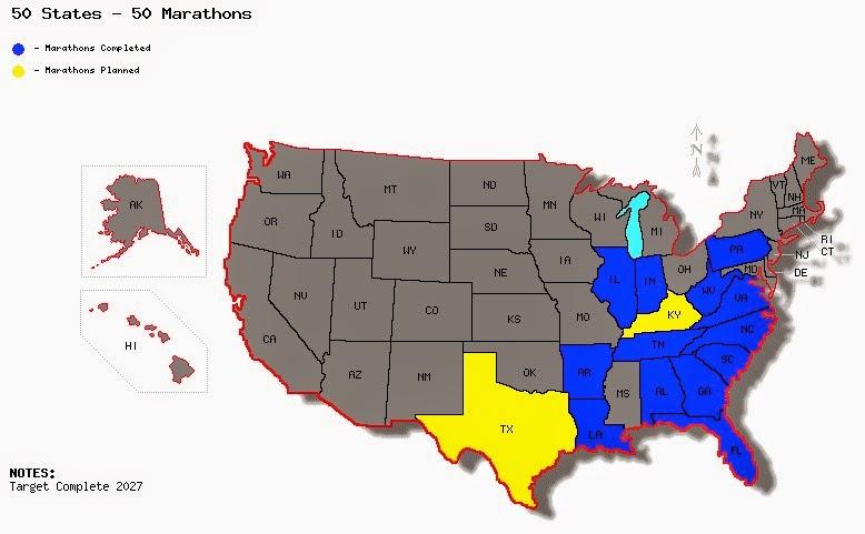 50 States - 50 Marathons