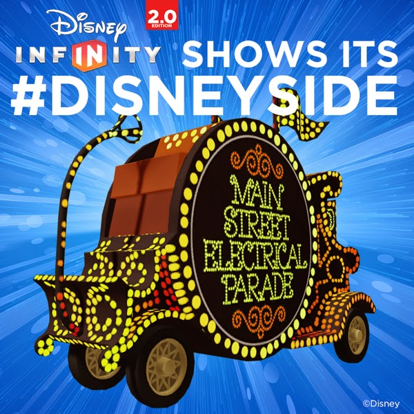 Disney Infinity 2.0 Main Street Electrical Parade float vehicle