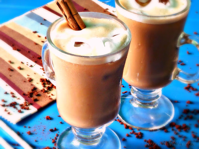 Agua de Café / Iced Coffee Agua Fresca - lacocinadeleslie.com