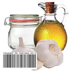 Receita de alho em conserva