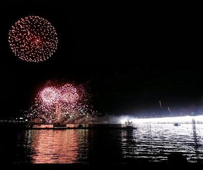 Fireworks in Yeouido, Seoul