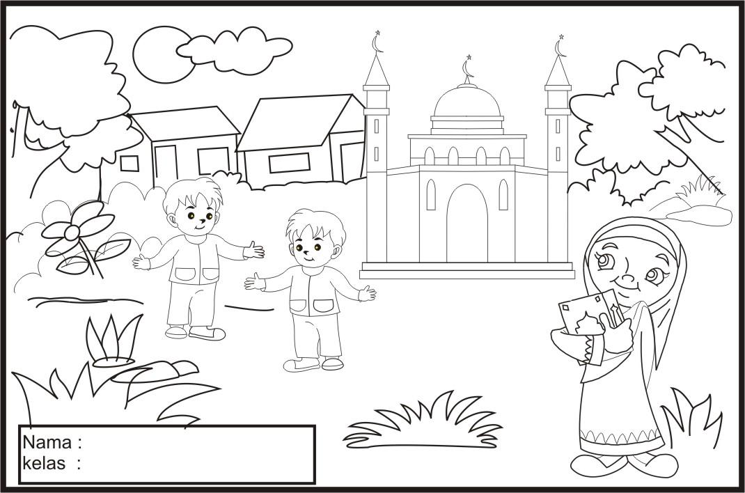 Gambar Kartun Buku Mewarnai Anak Mewarnai Gambar  Apps Directories