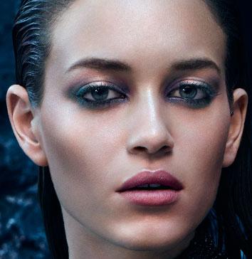 maquillaje ojos labios Midnight Siren Kiko Milano