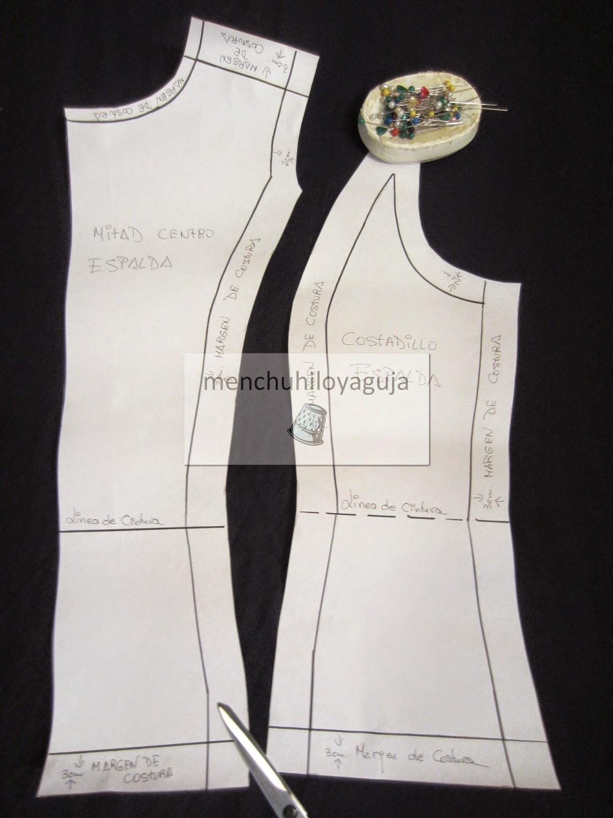 Patrones de Costura: CÓMO HACER UNA BLUSA CON COSTADILLOS A LA SISA