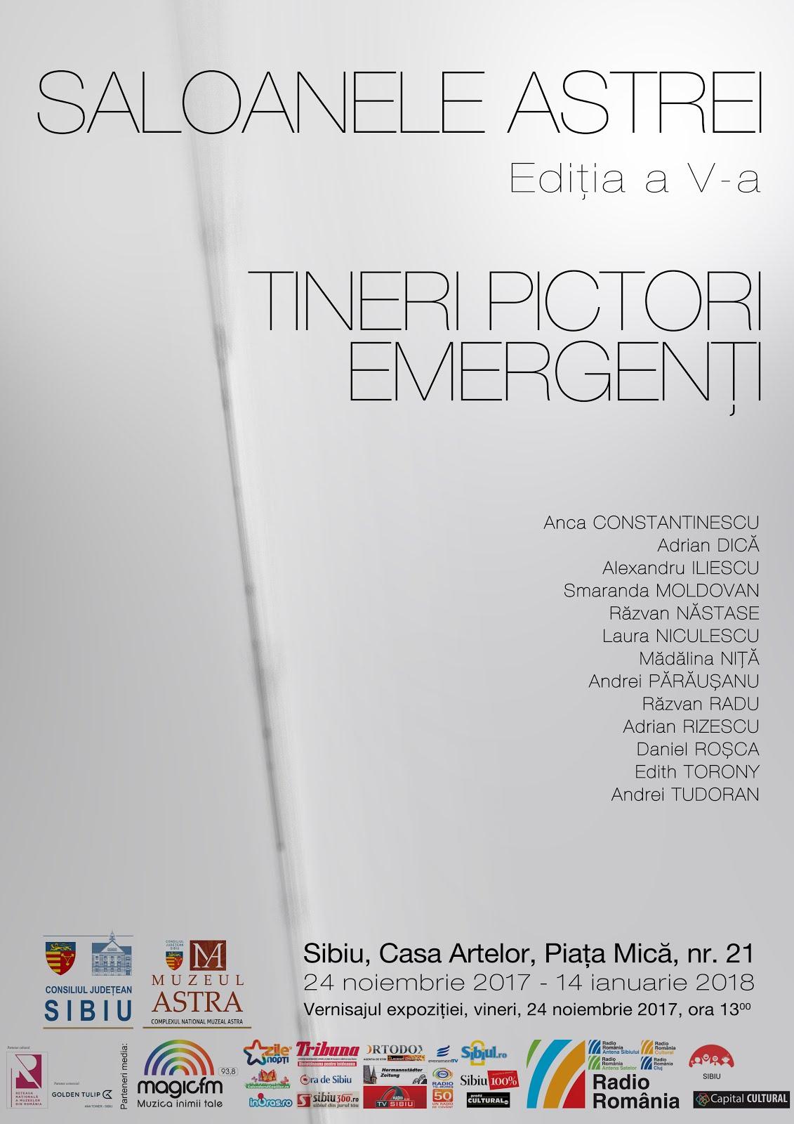 """Saloanele ASTREI – Ediția a V-a. Tineri pictori emergenți"""