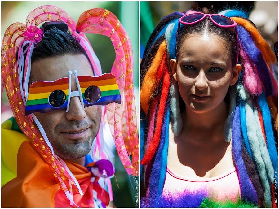 Тысячи израильтян и туристов со всего мира отмечали 14-я ежегодный гей-пара