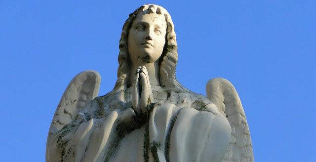 ANGEL PRAYING FAITH
