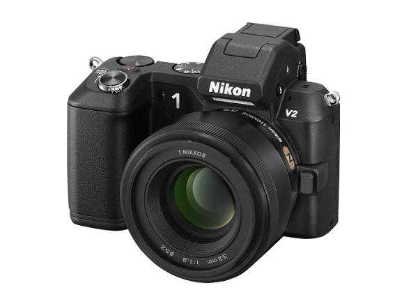 Fotografia della Nikon 1 V2 con obiettivo 1 Nikkor 32mm f/1.2