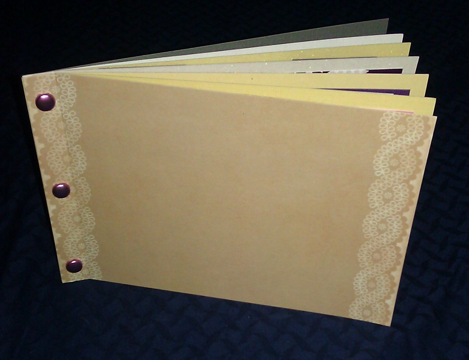 How to make scrapbook simple - This Tutorial Will Teach You How To Make A 5 Page Mini Album Or Scrapbook Album Out Of Cardstock Paper Just Follow The Simple Steps And You Will Have An