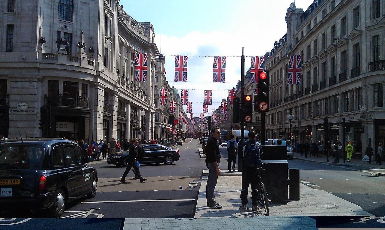 london regents street