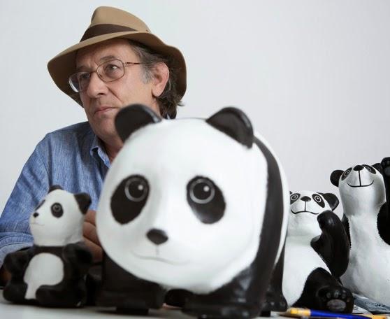 Paulo Grangeon, French sculptor, papier mache pandas, papier mache, 1,600 Pandas World Tour in Malaysia, 1600 Pandas MY, 1600 Pandas, 1600 Pandas World Tour, Pandas in Malaysia, Pandas, Initiating the Culture of Creative Conservation