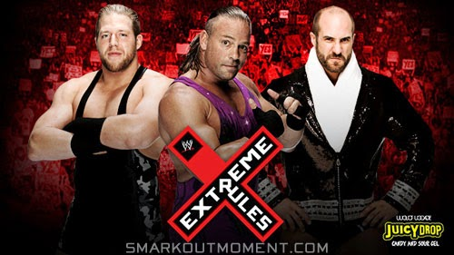 Rob Van Dam vs. Cesaro vs. Jack Swagger Extreme Rules 2014 Results