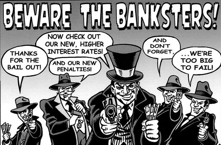 Nouvelle tendance mondiale : la confiscation de l'épargne... Banksters