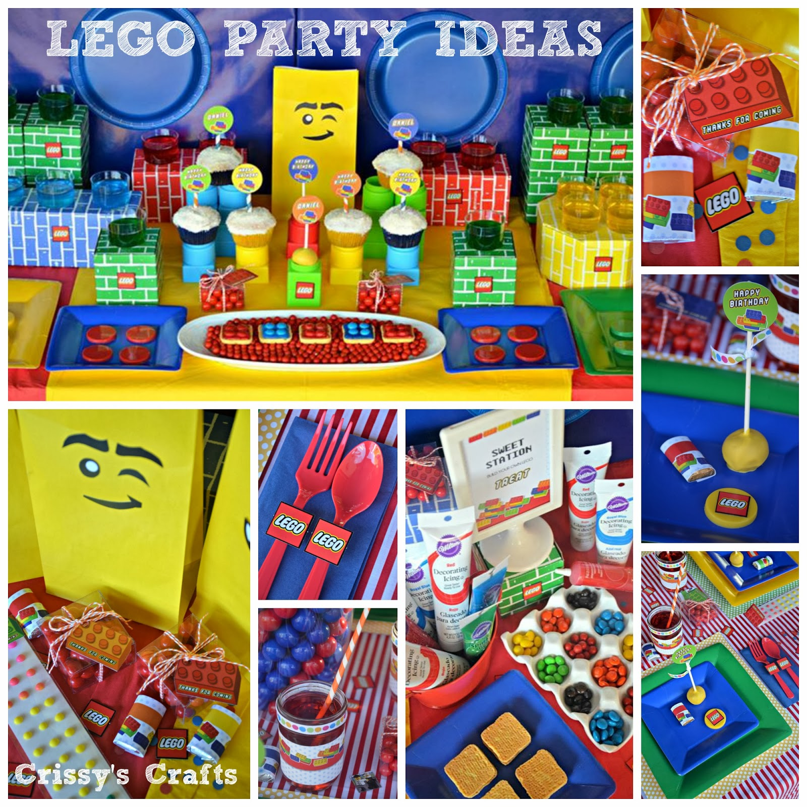 Crissy 39 S Crafts Lego Party Favor Ideas Blog Hop