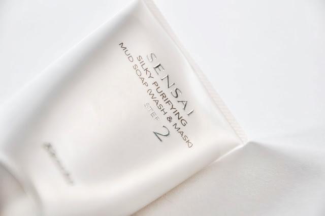 KANEBO SENSAI Silky Purifying Mud Soap Wash and Mask