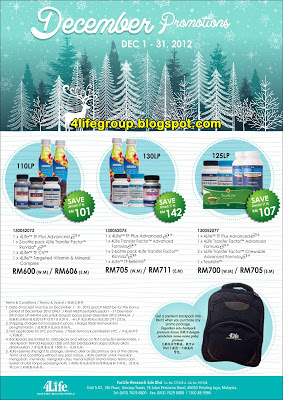 December 2012 Promo Packages