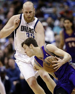 Chris Kaman Mavs