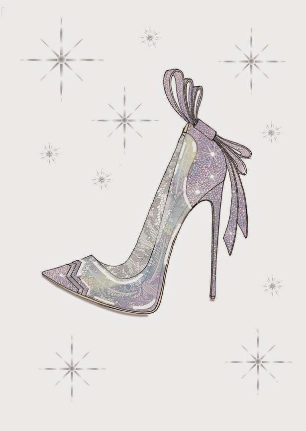Nicholas Kirkwood Cinderella Glass Slipper Sketch