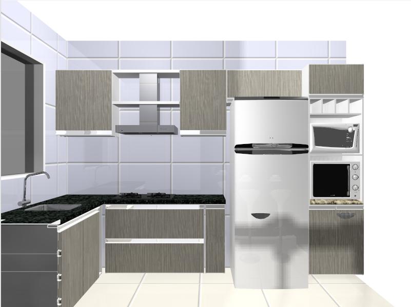 pensar e pesquisar, já me decidir o que fazer quanto à minha cozinha