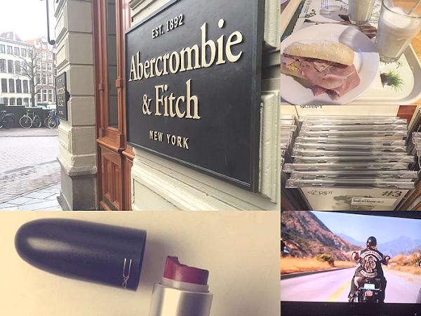 Life as Chelsey #6 - Amsterdam, winactie gewonnen, gebroken MAC lipstick