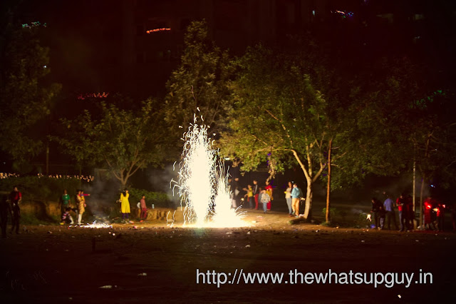 Diwali at Suncity Playground