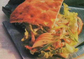 Receta Sandwich de Camarones