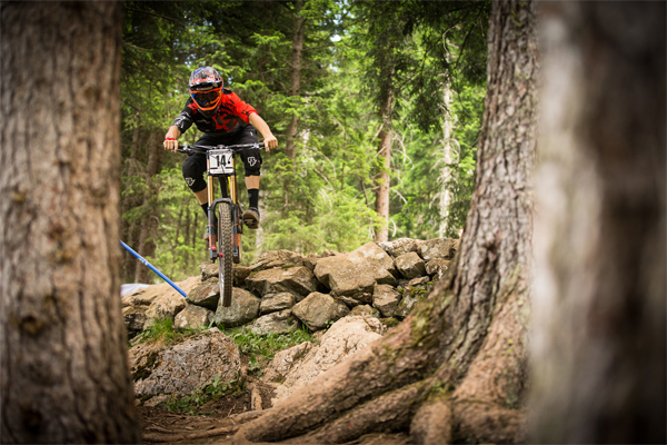 Norco Factory Racing 2015 Lenzerheide Sam Blenkinsop