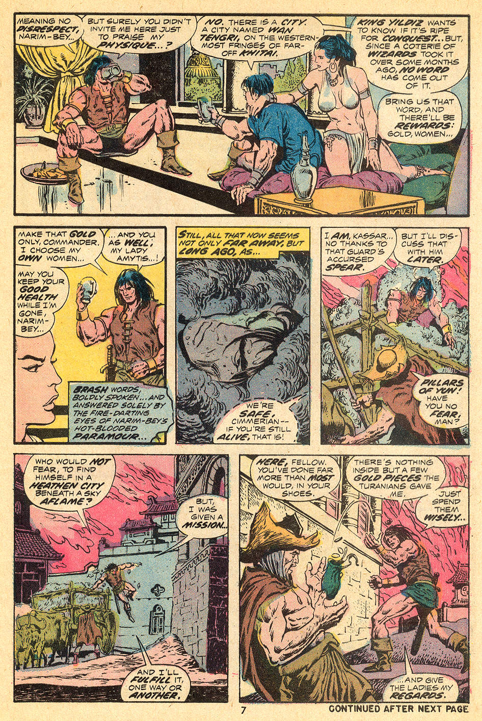 Conan the Barbarian (1970) Issue #32 #44 - English 6