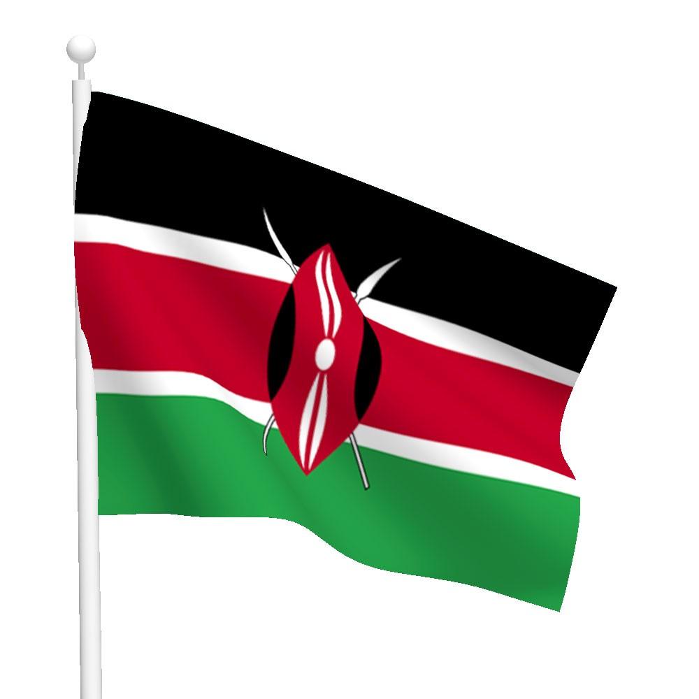 graafix  flag of kenya broken glass vector art broken glass victorious