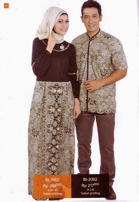 Gamis Batik Modern 1062