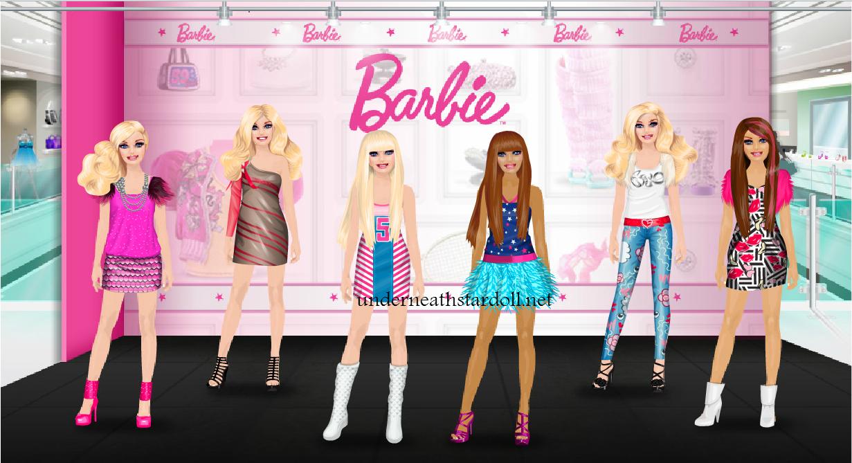 Hidden Barbie Store is out STARDOLL FREE Underneath Stardoll