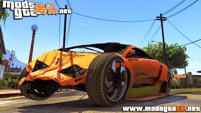 V - Mod Dano Aprimorado para GTA V PC