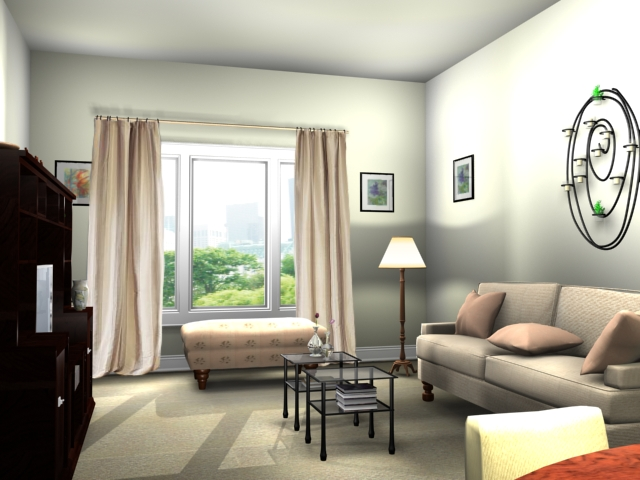 Picture insights small living room decorating ideas for Designing a living room space