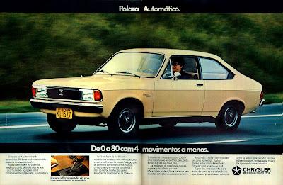 propaganda Dodge Polara - Chrysler 1979