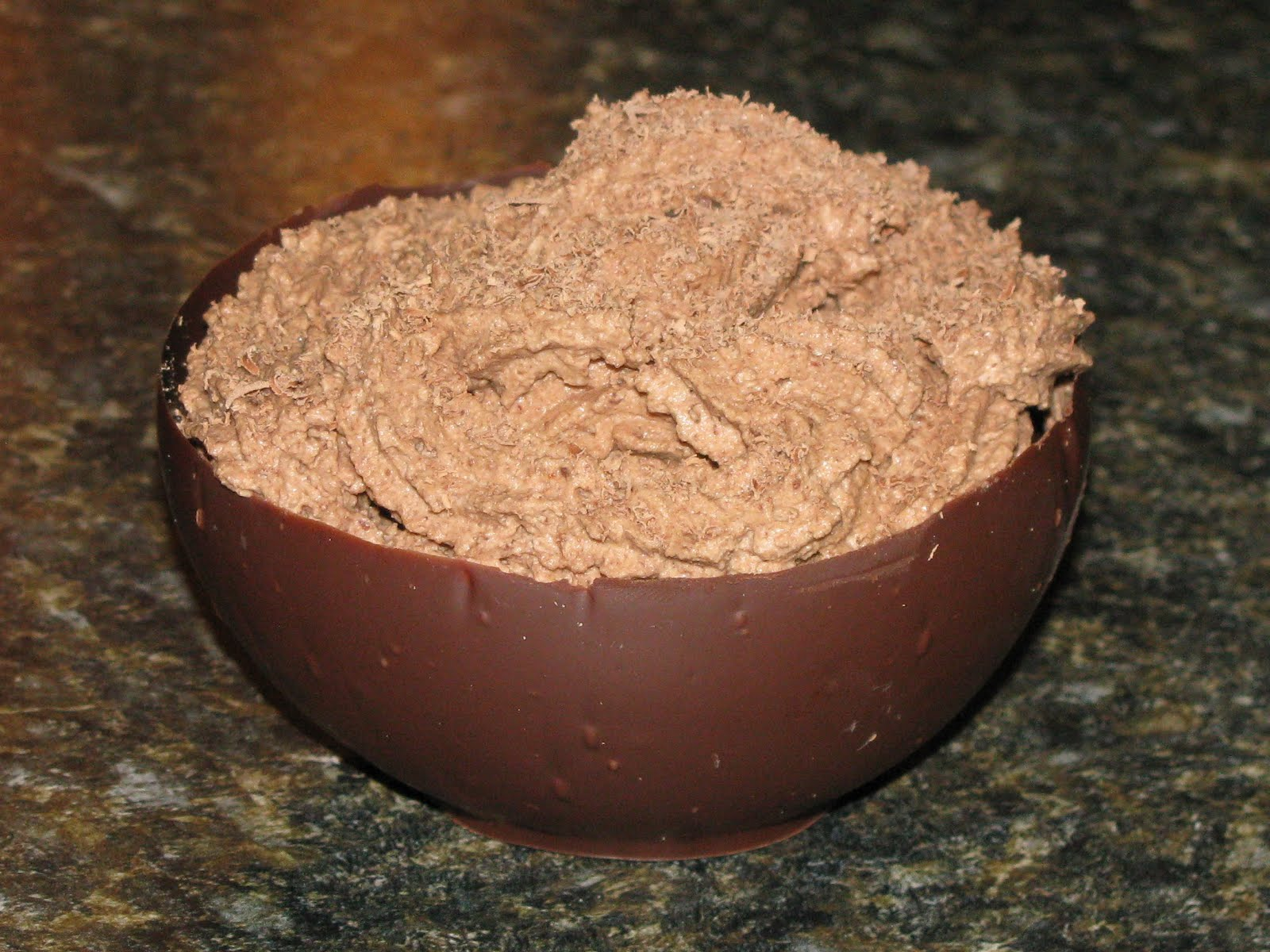 Kammie Cooks: Chocolate Bowls with Dark Chocolate Mousse