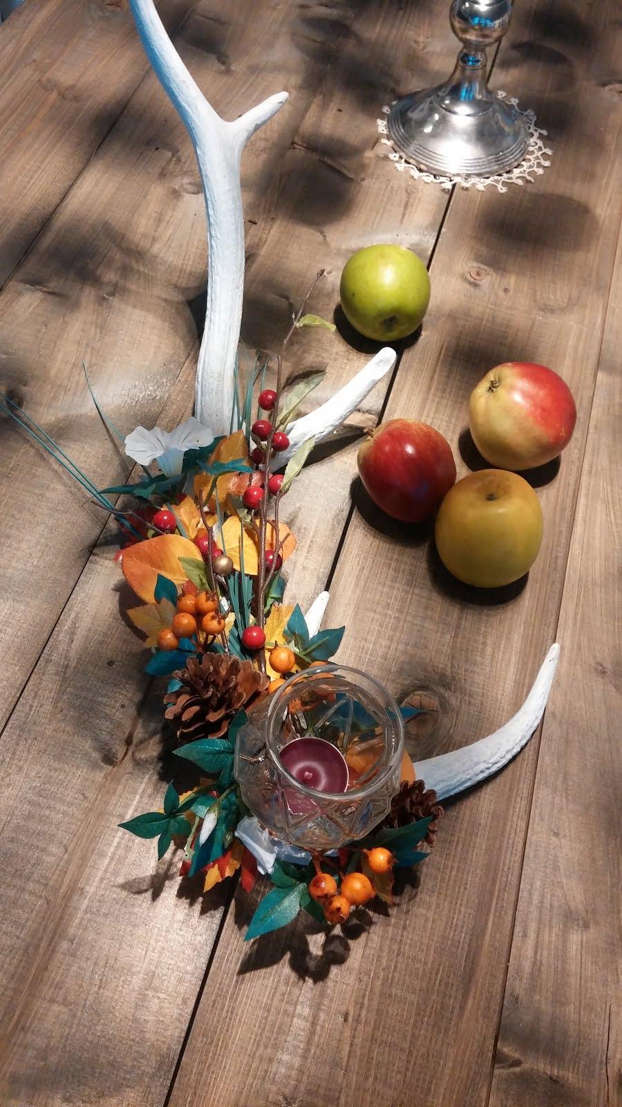 DIY - dekorert hjortehorn