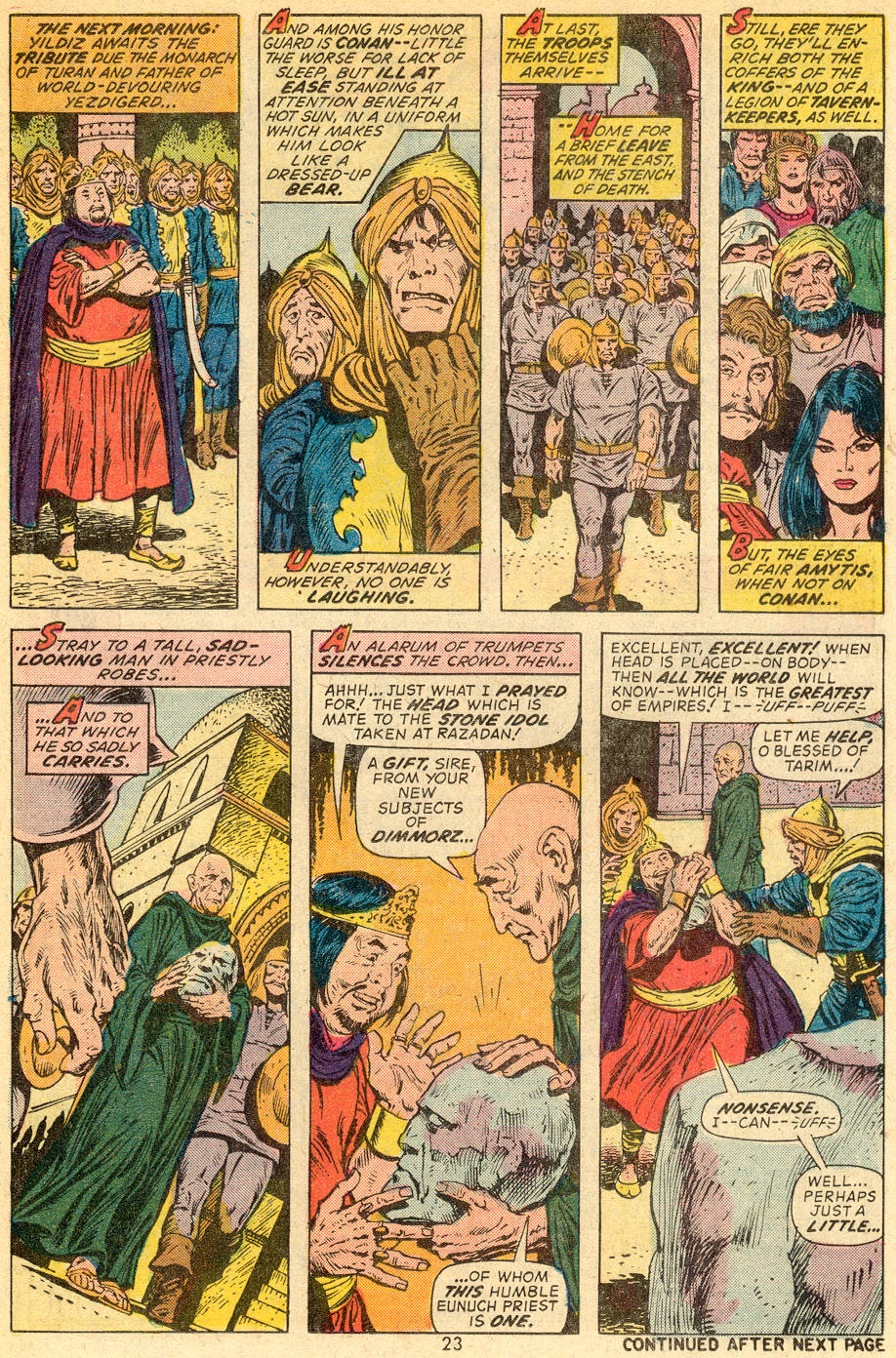 Conan the Barbarian (1970) Issue #36 #48 - English 14