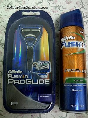 Gillette Fusion ProGlide Shaver & Cooling Shave Gel