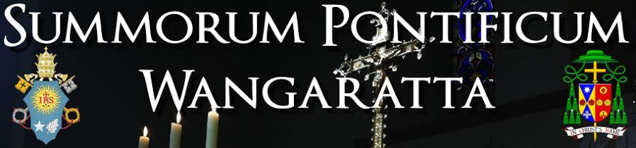 Summorum Pontificum Wangaratta