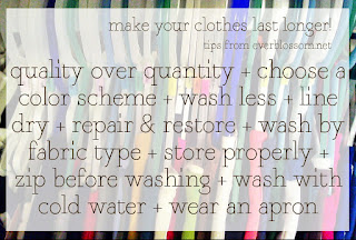 tips for making clothes last longer