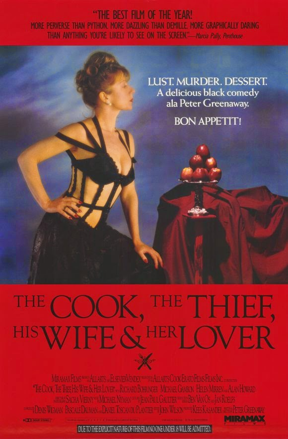 an analysis of the cook the thief his wife and her lover by peter greenway