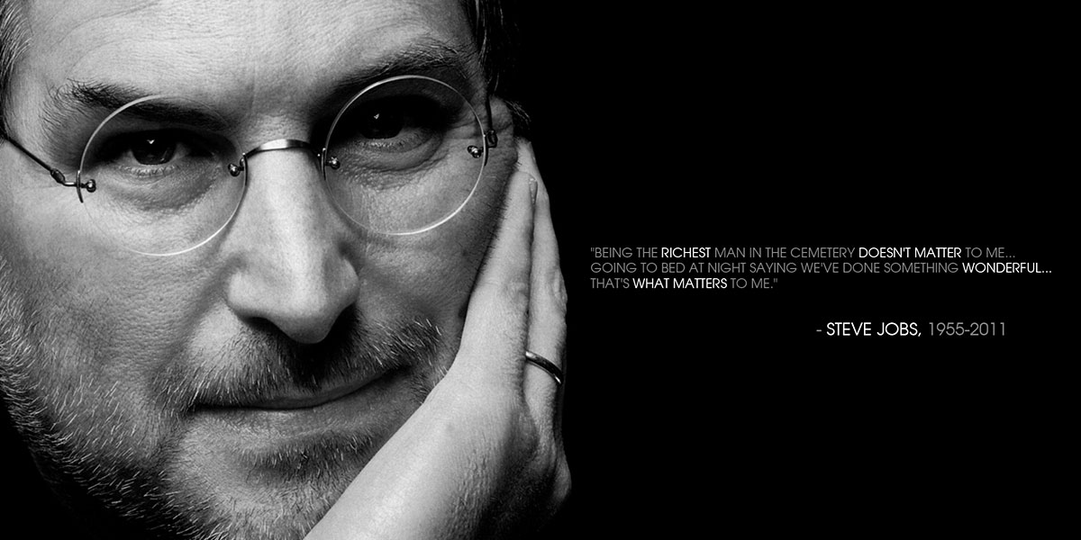 Steve Jobs l 300+ Muhteşem HD Twitter Kapak Fotoğrafları