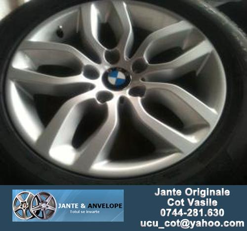 Jante Originale BMW, X3 - F25, 2011 (Second, ca Noi), pe 17 inch - 7
