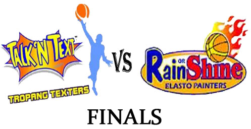 January 9, Watch PBA Talk 'N Text Tropang Texters vs Rain or Shine Painters Finals