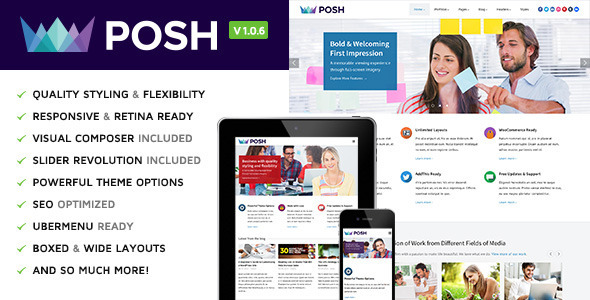 Posh Responsive WP Themes